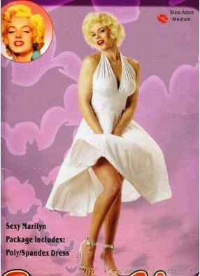 Платье Мерлин Монро воздушное 1 фото