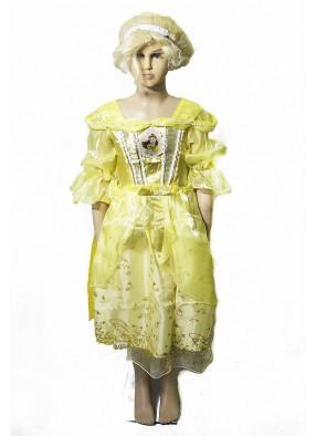 Платье принцессы диснея Белль фото