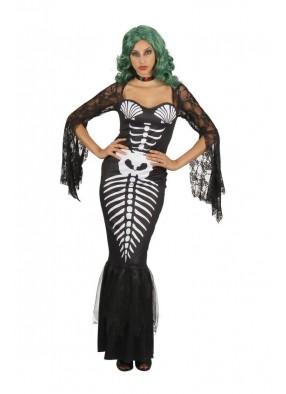 Платье Русалки скелета