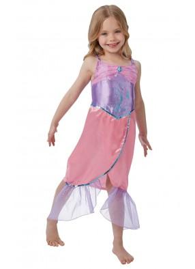 Платье русалочки фиолетово розовое фото