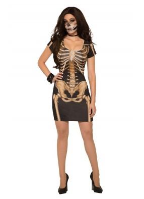 Платье с костями