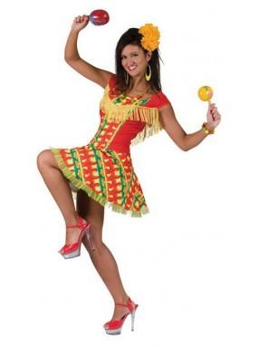 Платье веселой Мексиканки