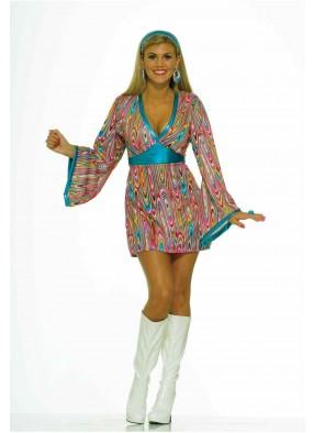 Платье хиппи из волшебных 60-х