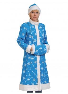Плюшевый костюм прекрасной снегурочки