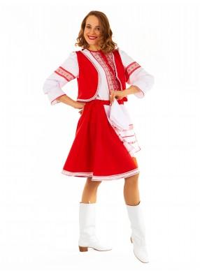 Плясовой Белорусский костюм женский