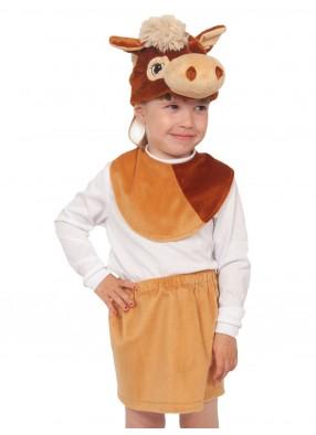 Плюшевый костюм лошадки