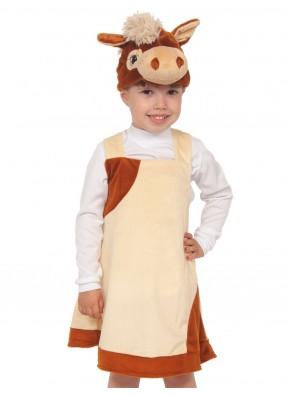 Плюшевый костюм лошадки для девочки