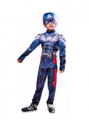 Подростковый костюм Капитана Америки