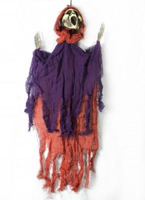 Подвесная декорация Крик фиолетово-оранжевый фото