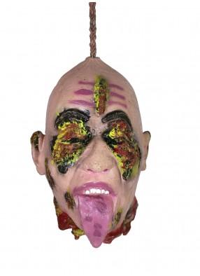 Подвесная голова с выжженными глазами фото