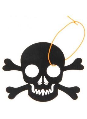 Подвесное украшение Череп с костями на Хэллоуин