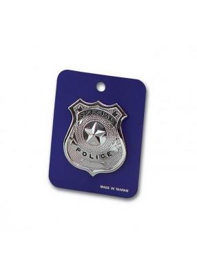 Полицейский нагрудный знак металлический