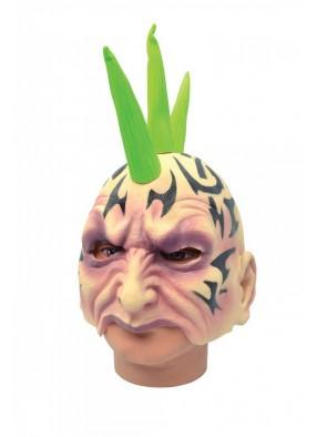 Полумаска Ирокез в тату 1 фото
