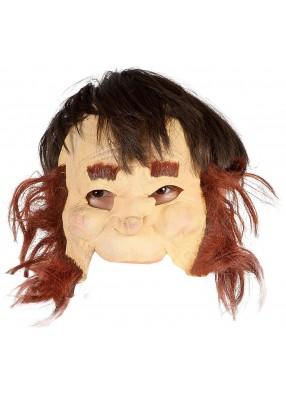 Полумаска лепрекона с волосами