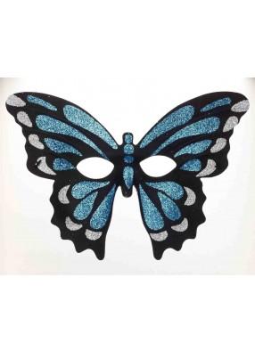 Полумаска синей бабочки