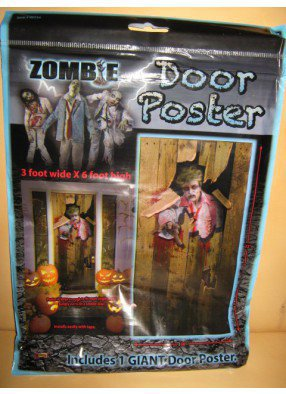 Постер на дверь для Хэллоуина