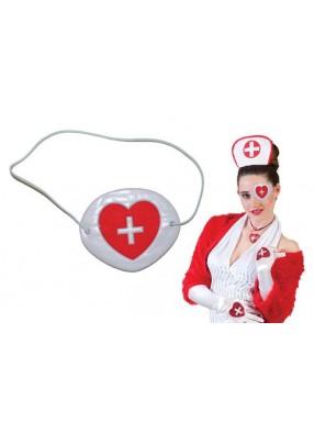 Повязка медсестры на глаз
