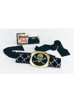 Пояс пирата с золотом и костями
