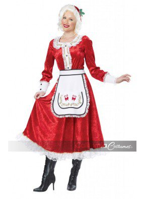 Праздничный костюм миссис Санты