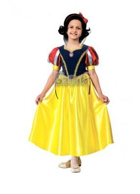 Карнавальный костюм принцессы Белоснежки