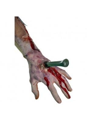 Пробитая рука