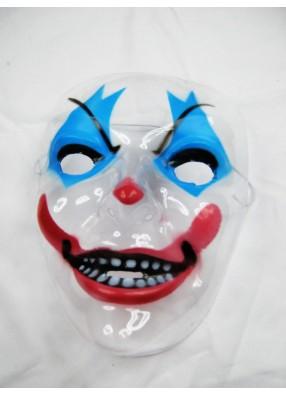 Прозрачная маска Злого клоуна