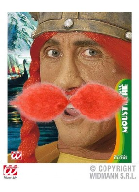 Пышные рыжие усы викинга