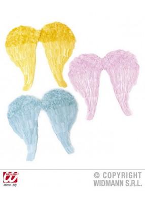 Разноцветные крылья ангелов