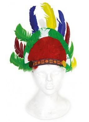 Разноцветные перья индейца