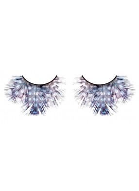Ресницы - сапфировые перья