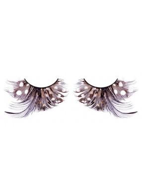 Ресницы перьевые - абстрактные бабочки