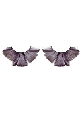 Ресницы перьевые - тени