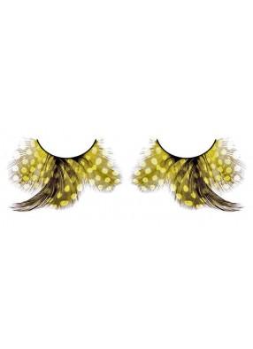 Ресницы перьевые-бабочки
