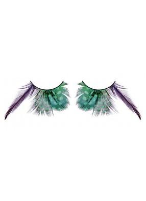 Ресницы перьевые разноформатные