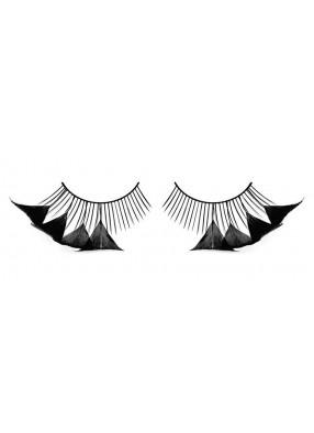 Ресницы перьевые треугольнички