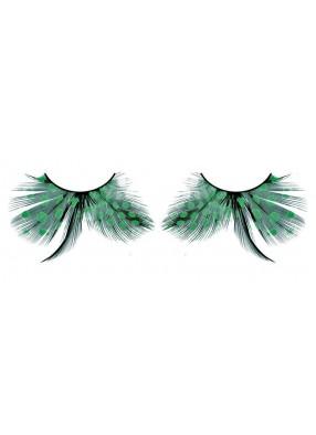 Ресницы перьевые тропические