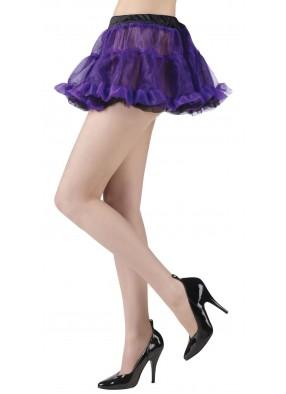 Реверсивная туту юбочка фиолетово-черная
