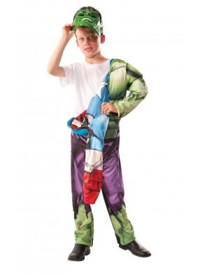 Реверсивный костюм Капитан Америка Халк фото