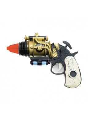 Револьвер из будущего в стиле стимпанк