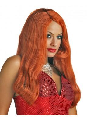 Рыжий парик огненной красотки