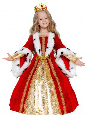 Роскошный костюм королевы