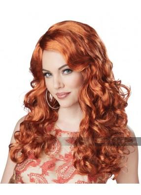 Роскошный рыжий парик