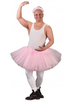 Розовая юбка туту для мужчин фото
