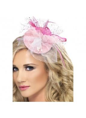 Розовая заколка для волос