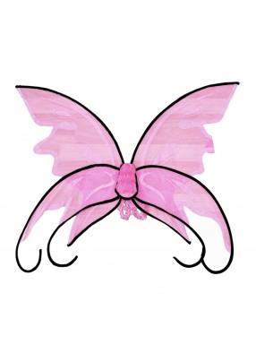 Розовые крылья бабочки