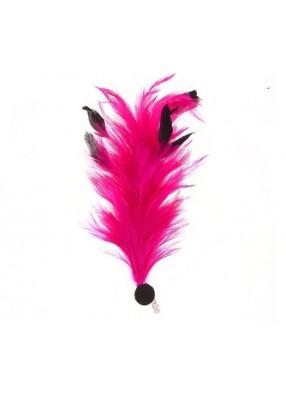 Розовое перо для дам