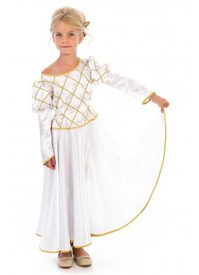 Белое платье принцессы