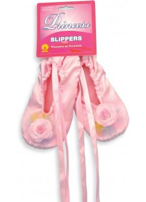 Розовые балетки для девочки