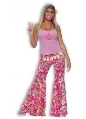 Розовые брюки Хиппи