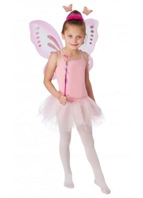 Розовый набор с бабочками